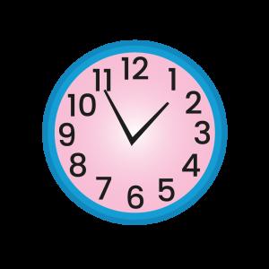 Clock Alphabets