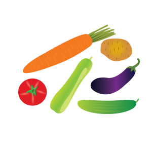 vegetable Alphabets