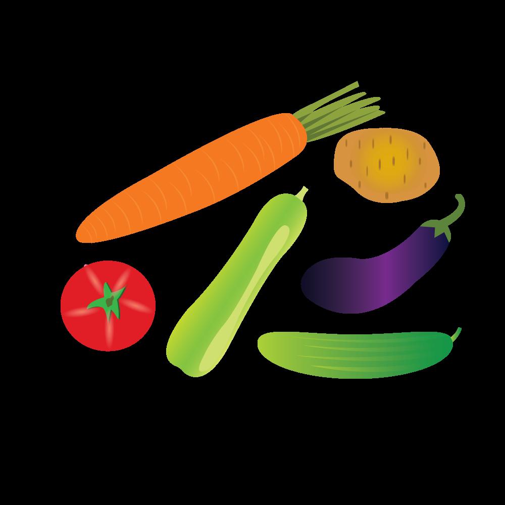vegetable Alphabets